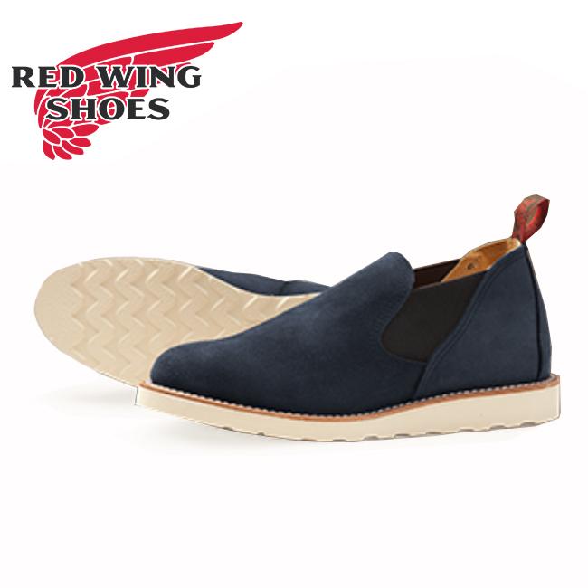 ★ RED WING レッドウイング ブーツ Romeo Navy Abilene 8129 ワイズ E 【靴】ワークブーツ サイドゴアブーツ