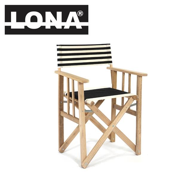 即日発送 LONA ロナ ディレクターチェア 01-01-09 【FUNI】【CHER】 チェア 椅子 折りたたみ キャンプ ガーデン 運動会 屋内 屋外 インテリア