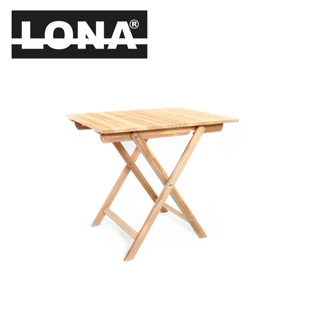 ★ LONA ロナ 折りたたみウッドテーブル L 01-08-01-002 【雑貨】 テーブル 折りたたみ 屋内 屋外 インテリア アウトドア