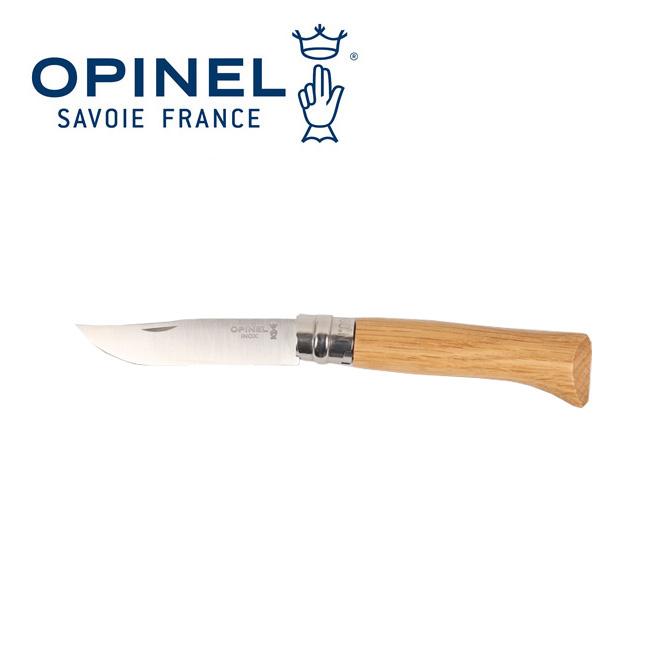 即日発送 OPINEL オピネル ステンレススチール No.6 オークウッド  ナイフ アウトドアナイフ