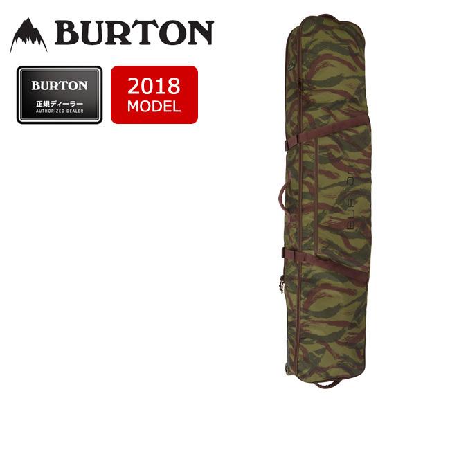 【スマホエントリでP10倍 11/21 09:59迄 】即日発送 2018 BURTON バートン ボードケース WHEELIE BOARD CASE BRUSHSTROKE CAMO PRINT/10993104328 【カバン】