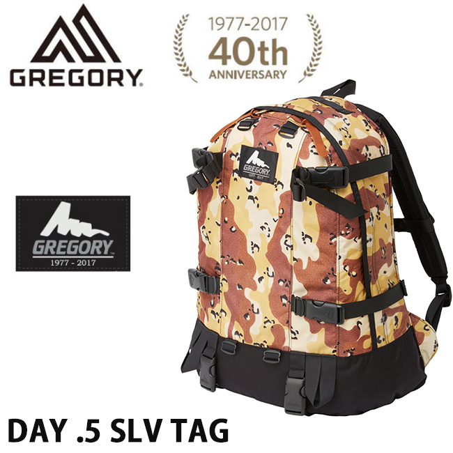 即日発送 40周年記念モデル GREGORY グレゴリー デイアンドハーフ シルバータグ DAY .5 SLV TAG 復刻版 バックパック シルバータグ 【デイパック・リュック】日本正規品