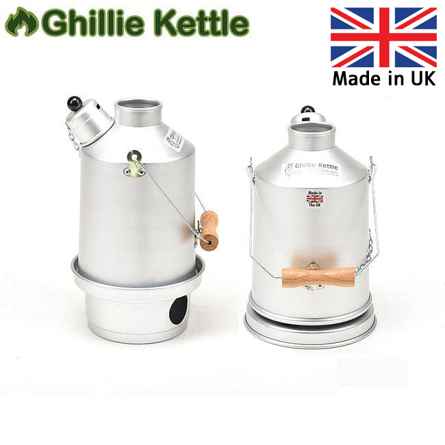 Ghillie Kettle ギリーケトル EXPLORER 1.0L SILVER ANODISED (S/A) 3215011 【BBQ】【GLIL】キャンプ アウトドア ボイラー 【clapper】