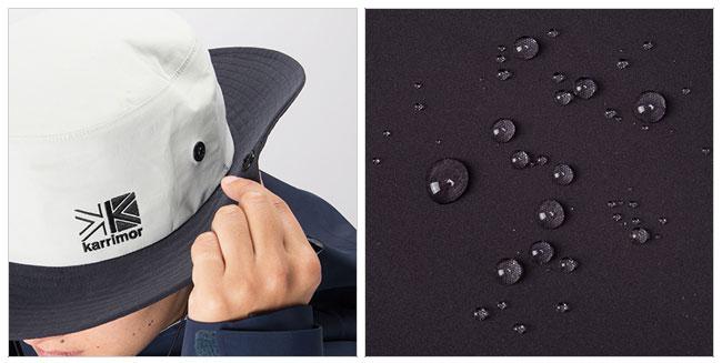 即日発送 カリマー Karrimor ハット rain 3L hat +d レイン 3L ハット +d ハット 防水透湿 アウトドア キャンプ 運動会 イベント