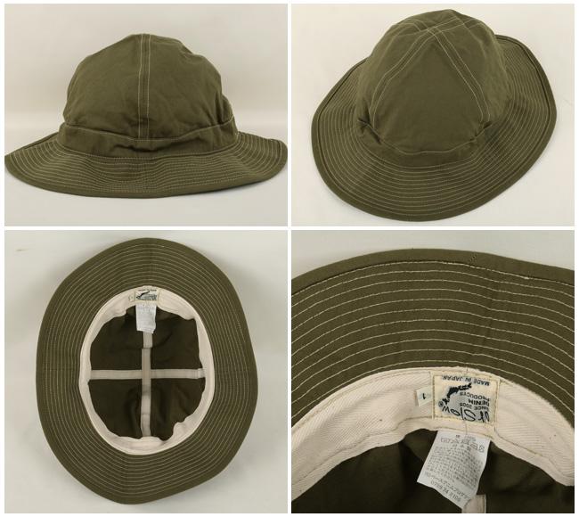 即日発送 Orslow/オアスロウ ハット US NAVY HAT 03-001-16A GREEN メンズ レディース ユニセックス アウトドア