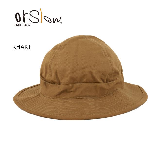 即日発送 Orslow/オアスロウ ハット US NAVY HAT 03-001-40 KHAKI 【帽子】メンズ レディース ユニセックス アウトドア