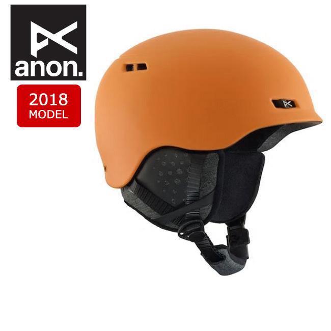 2018 anon アノン ヘルメット RODAN ORANGE 【スノー雑貨】日本正規品 メンズ 【clapper】