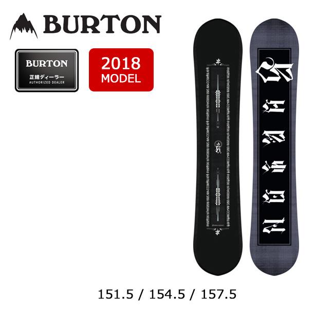 【スマホエントリでP10倍 11/21 09:59迄 】即日発送 2018 BURTON バートン スノーボード 板 アントラー ANTLER 【板】 MENS メンズ