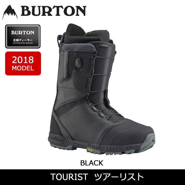 【スマホエントリでP10倍 11/21 09:59迄 】即日発送 2018 BURTON バートン ブーツ TOURIST ツアーリスト 【ブーツ】MENS 日本正規品
