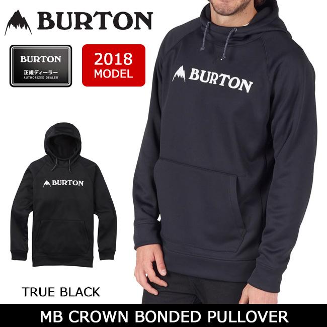 【USサイズ】 BURTON BONDED HOODIE FULL-ZIP 2017SS HISTORY OF SB BLACK