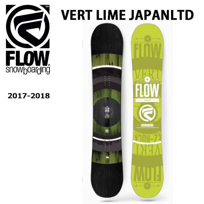 即日発送 2018 FLOW フロー スノーボード 板 VERT LIME JAPAN LTD 【板】