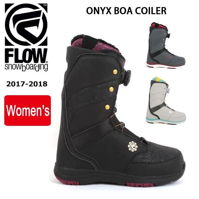 【スマホエントリでP10倍6/1(金)10時~】即日発送 2018 FLOW フロー ブーツ ONYX BOA COILER 【ブーツ】メンズ レディース