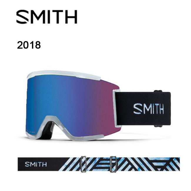 即日発送 2018 スミス SMITH OPTICS SQUAD XL ゴーグル Squall/CP Photochromic Rose Flash 調光/Clear 【ゴーグル】ラージフィット アジアンフィット