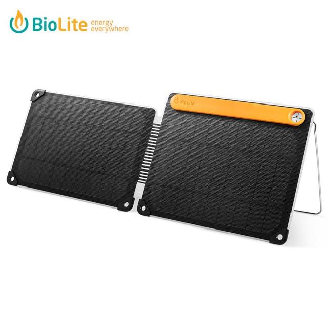 即日発送 BioLite バイオライト ソーラーパネル ソーラーパネル10 PLUS 1824263 【ZAKK】太陽光 折りたたみ式 軽量 スリム アウトドア 充電 蓄電 防災グッズ