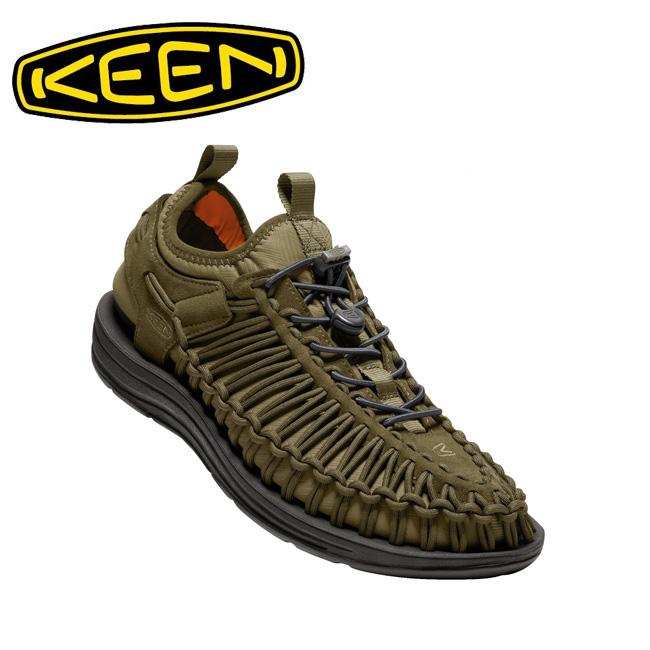 キーン KEEN スニーカー UNEEK HT ユニーク HT Dark Olive/Gothic Olive 1018027 メンズ 【靴】カジュアル アウトドア 海 ウォータースポーツ サンダル 【clapper】