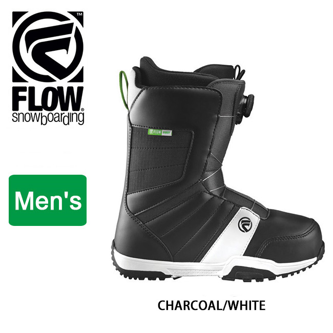 即日発送 2018 FLOW フロー RANGER BOA CHARCOAL/WHITE 【ブーツ】 日本正規品