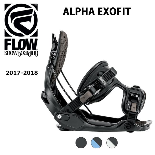 【スマホエントリでP10倍 11/21 09:59迄 】即日発送 2018 FLOW フロー ビンディング ALPHA EXOFIT 【ビンディング】