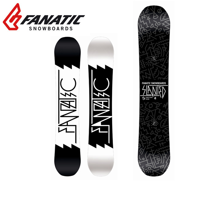 即日発送 2018 FANATIC ファナティック スノーボード 板 SLANTED 【板】 日本正規品