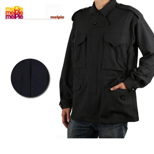 Melple/メイプル ジャケット ウインターキャットミリタリー JKT 17FW-MP055 【服】トップス メンズ ストレッチ 【clapper】