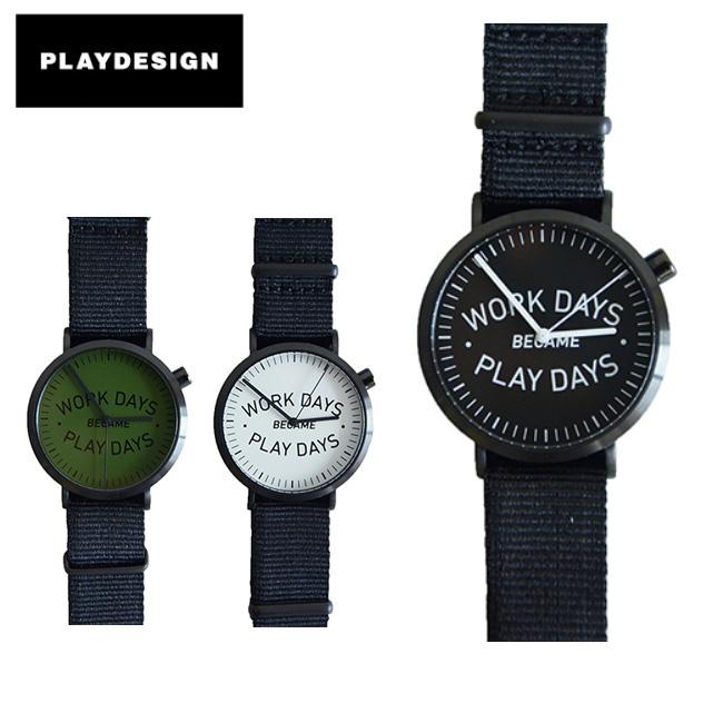 PLAYDESIGN プレイデザイン 腕時計 P01TIME WDBPD ANALOG PL-0005 【雑貨】 【clapper】