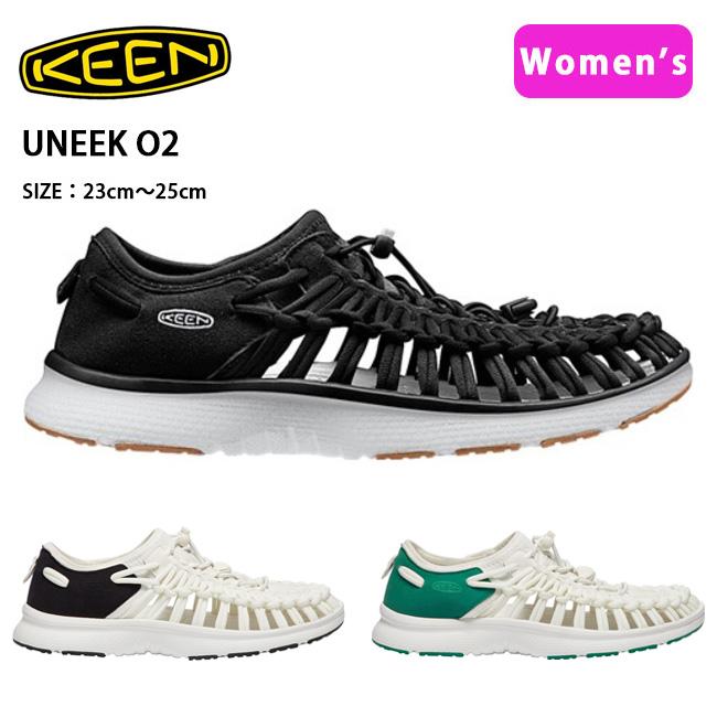 キーン KEEN オープンエアースニーカー UNEEK O2 ユニーク オーツー  1017055/1018735/1018734 レディース 【靴】シティ トラベル アウトドアシューズ カジュアルシューズ 【clapper】