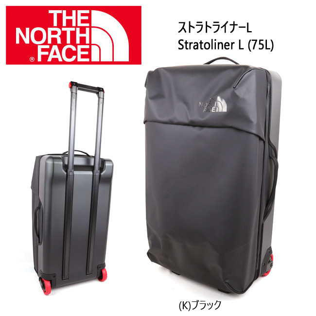 ノースフェイス THE NORTH FACE トラベル・ウィーラー ストラトライナーL Stratoliner L (75L) NM81818 【NF-BAG】日本正規品 【clapper】