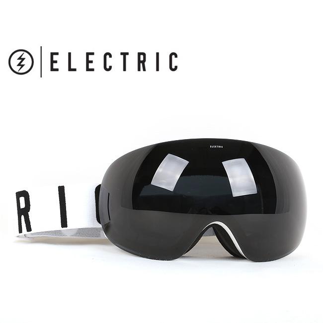 即日発送 2017 ELECTRIC エレクトリック ゴーグル EG3 GLOSS WHITE WORDMARK JET BLACK EG6216108【ゴーグル】アジアンフィット