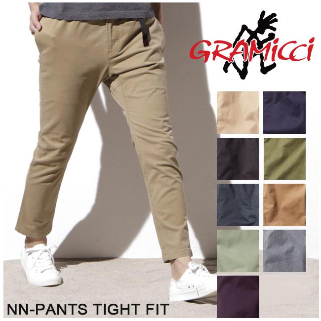 グラミチ GRAMICCI パンツ NN-PANTS TIGHT FIT NNパンツタイトフィット 8818-FDJ 【服】 ストレッチパンツ スポーティ ロングパンツ 【clapper】