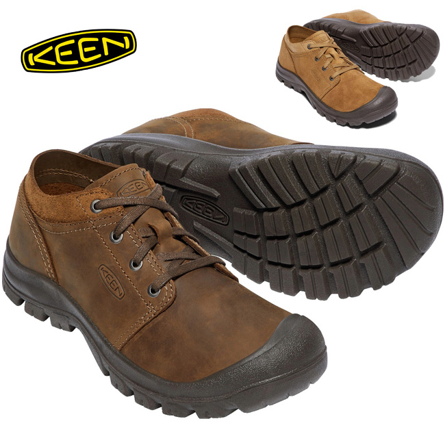 キーン KEEN レザーシューズ GRAYSON OXFORD FG グレイソン オックスフォード 1018957/1018956 メンズ 【靴】シティ  カジュアルシューズ  シューズ 軽量 【clapper】