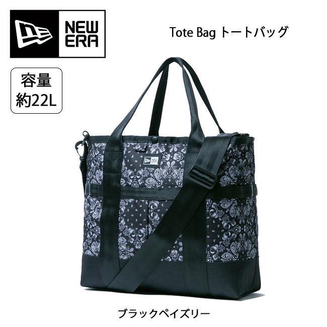 即日発送 NEWERA ニューエラ Tote Bag トートバッグ ブラックペイズリー 11556584 【カバン】 手提げ ショルダー トート