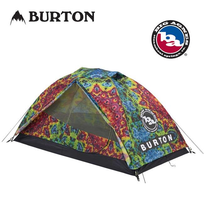 即日発送 BURTON バートン BIG AGNES ビッグアグネス キャンプ テント Blacktail 2 Tent Demma Dye Print 14541104965 【TENTARP】【TENT】 アウトドア キャンプ 2人用テント