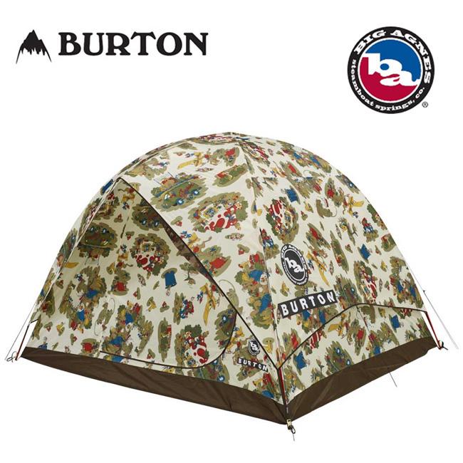 即日発送 BURTON バートン BIG AGNES ビッグアグネス キャンプ テント Rabbit Ears 6 Duntadun Print 16702101966 【TENTARP】【TENT】 アウトドア キャンプ 6人用テント