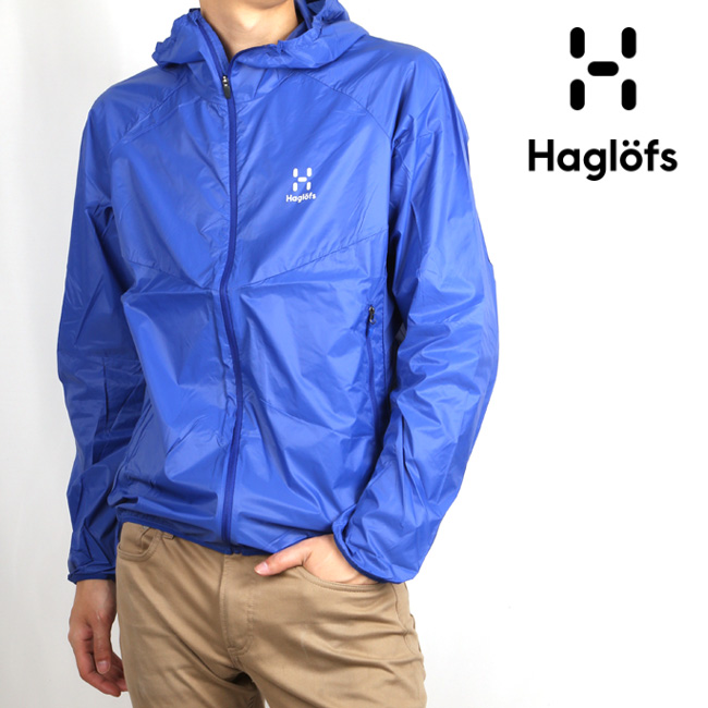 HAGLOFS/ホグロフス ジャケット SKOLD HOOD MEN 603885 【服】メンズ アウター 超軽量 【clapper】