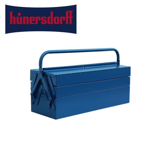 hunersdorff ヒューナースドルフ ツールボックス Metal Tool Box 5-Part メタルツールボックス 3284 【雑貨】収納ケース アルミ インテリア おしゃれ 【clapper】