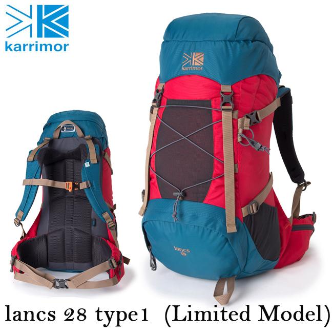 即日発送 【限定モデル】 カリマー Karrimor バックパック lancs 28 type1 (Limited Model) ランクス 28 タイプ1 (リミテッドモデル)  【カバン】リュック デイパック