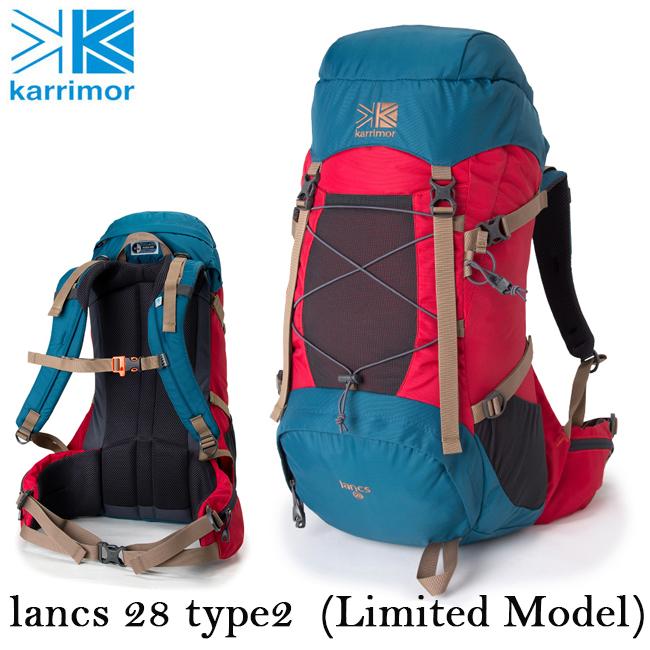 即日発送 【限定モデル】 カリマー Karrimor バックパック lancs 28 type2 (Limited Model) ランクス 28 タイプ2 (リミテッドモデル)  【カバン】リュック デイパック