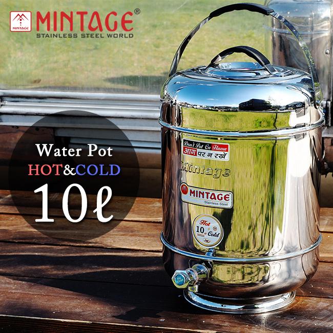 MINTAGE ミンテージ ウォータージャグ Hot&Cold Water Pot innova 10 Litres 保温保冷 【BTLE】 【clapper】