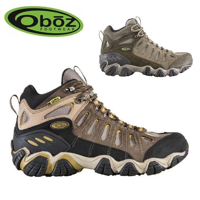ラスト1点!特別価格!!OBOZ オボズ トレッキングシューズ Sawtooth Mid B-Dry 20701 【靴】メンズ 【clapper】