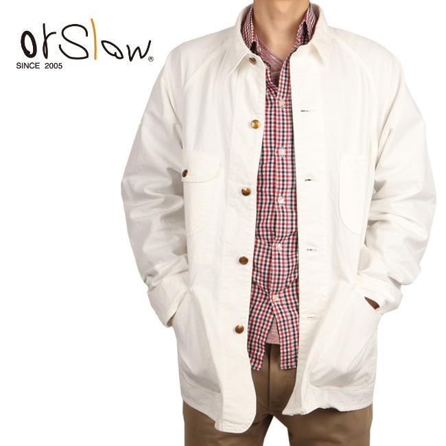 Orslow/オアスロウ ジャケット 50 DENIM COVERALL 03-6140-66 【服】薄手 アウター シャツジャケット メンズ レディース 【clapper】