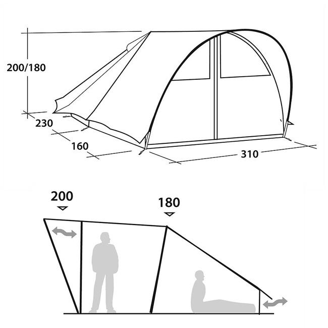 即日発送 ROBENS ローベンス テント Trapper トラッパー ROB130176 アウトドア