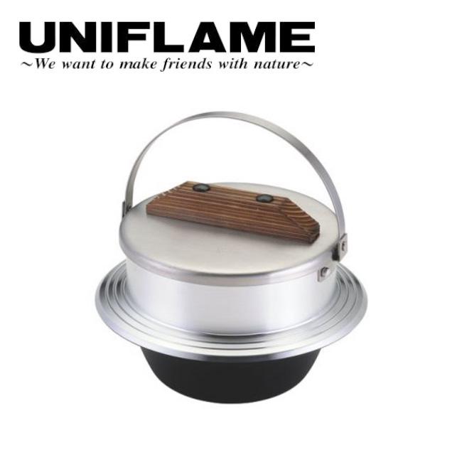 ユニフレーム UNIFLAME 羽釜 キャンプ羽釜 3合炊き 660218 【UNI-COOK】 【clapper】