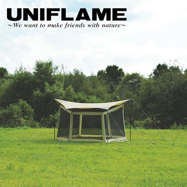 ユニフレーム UNIFLAME タープオプション REVOメッシュウォール M 681763 【UNI-ETCA】 【clapper】