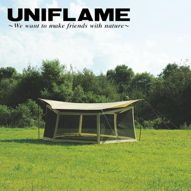 ★ ユニフレーム UNIFLAME タープオプション REVOメッシュウォール 600 681770 【UNI-ETCA】