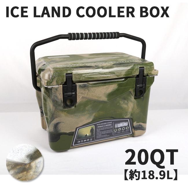 Iceland Cooler Box アイスランド クーラーボックス Iceland Cooler Box 20QT クーラーボックス20QT 【大型 クーラーBOX バーベキュー アウトドア 保冷 ピクニック 海水浴】 【clapper】