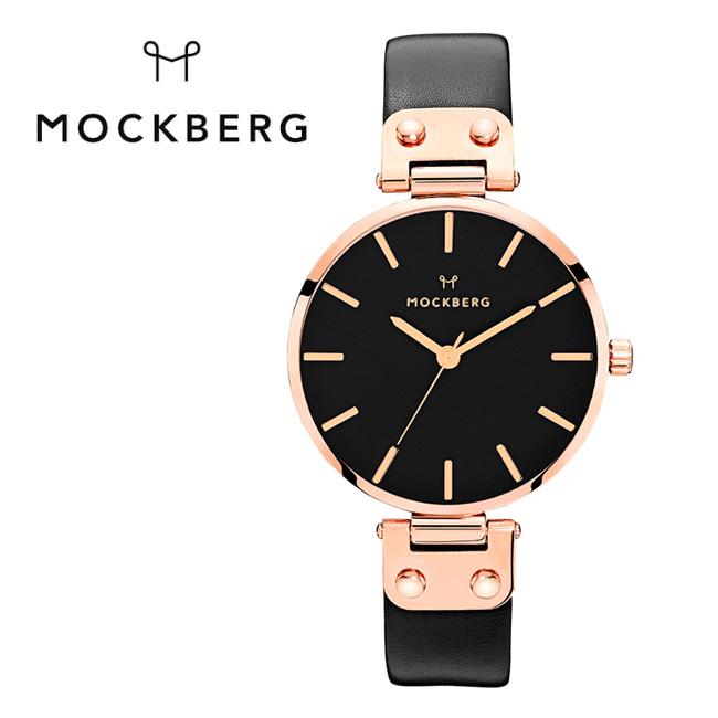 MOCKBERG/モックバーグ Sigrid Black MO110 【日本正規品/腕時計/WOMEN/レディース/本革/女性/ビジネス】 【clapper】