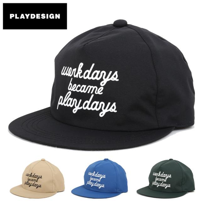 PLAYDESIGN プレイデザイン SUPER PLAY CAP(P01) P01-15SW17C01WP 【キャップ/防水透湿素材/山登り/刺繍】 【clapper】