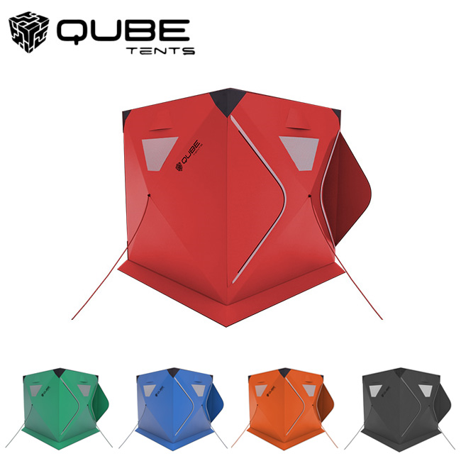 QUBE TENT キューブテント 4Person Tent 四人用テント 【ワンタッチテント/クイックピッチテント】