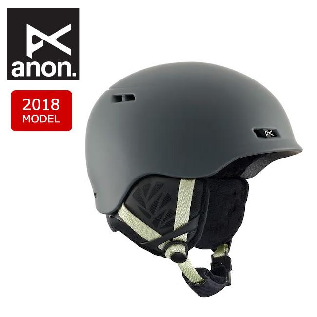 anon アノン GRIFFON GRAY 【日本正規品/レディース/ヘルメット/2018年モデル】