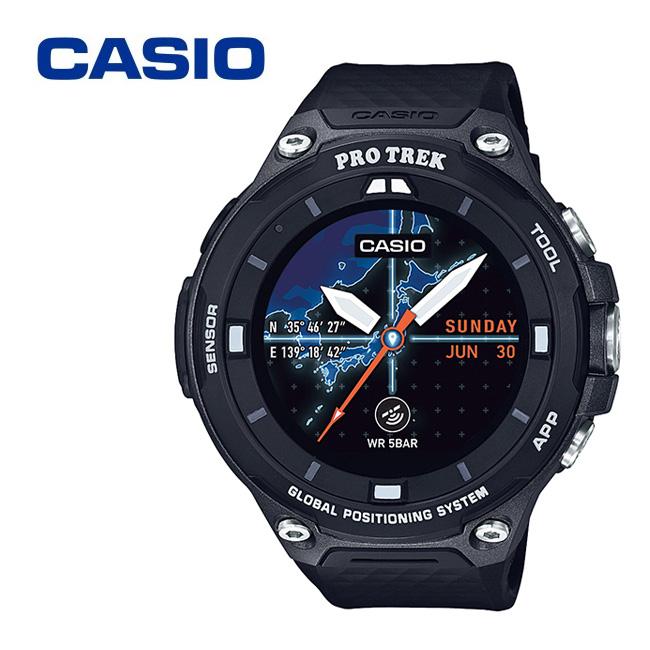CASIO カシオ PRO TREK smart WSD-F20-BK 【腕時計/アウトドア/ハイキング】 【clapper】