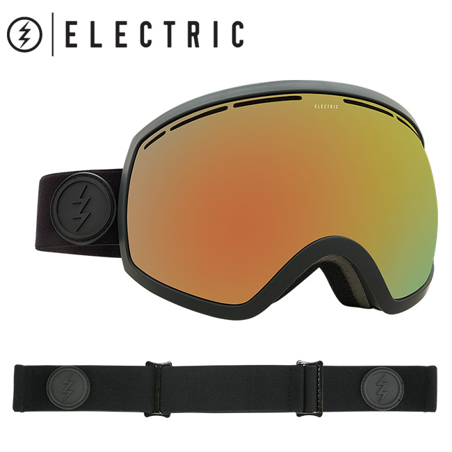 ELECTRIC エレクトリック EG2 MATTE BLACK GREY/RED CHROME EG5517100 【2018/日本正規品/アジアンフィット】